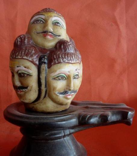 5 faced shiva