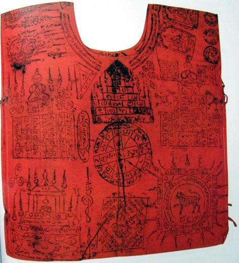 Sacred Yantra vest for protection