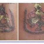 Sak Yant Por Gae Ruesi Narot, and Yant Hanuman
