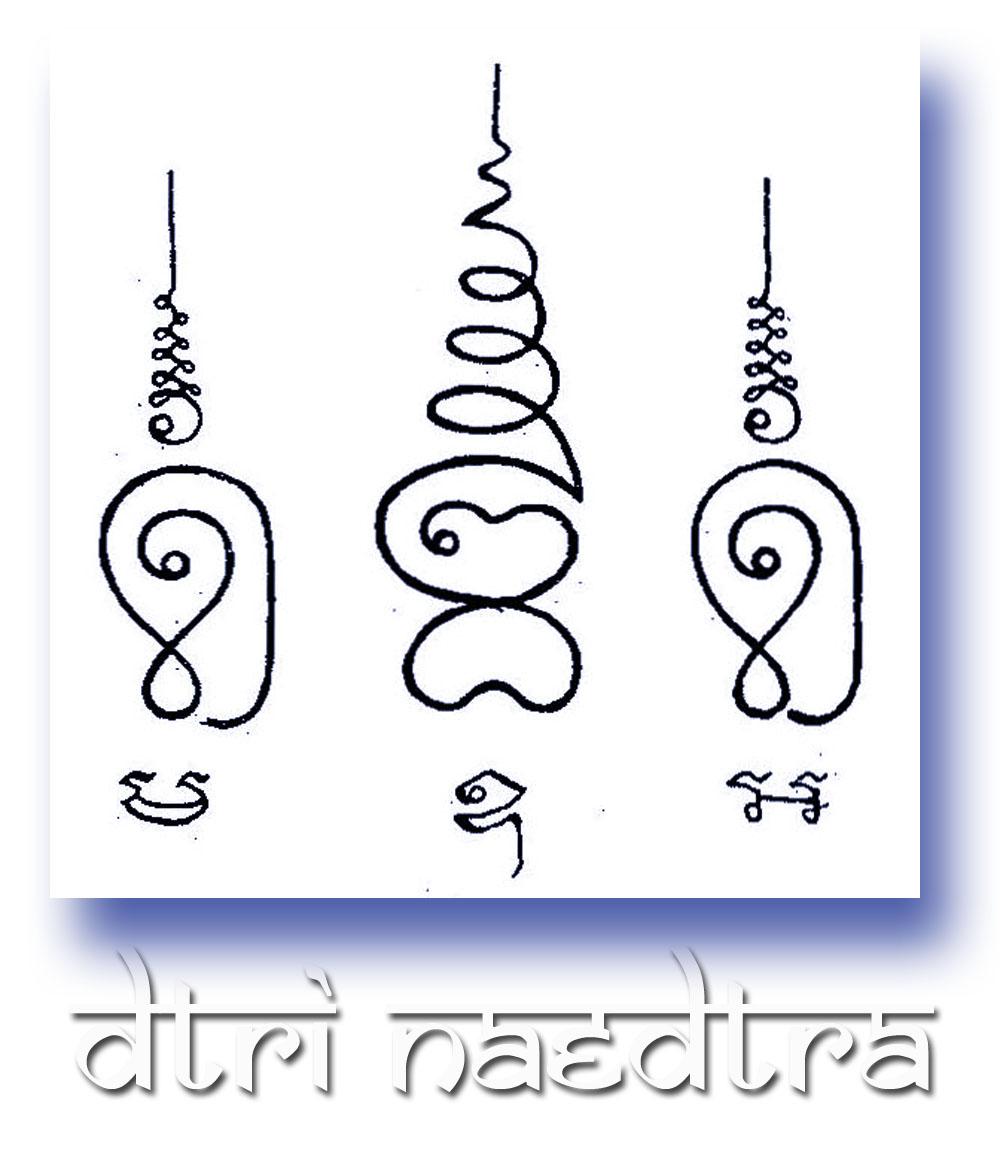 Dtrinaetra Sak Yant Thai Temple Tattoos