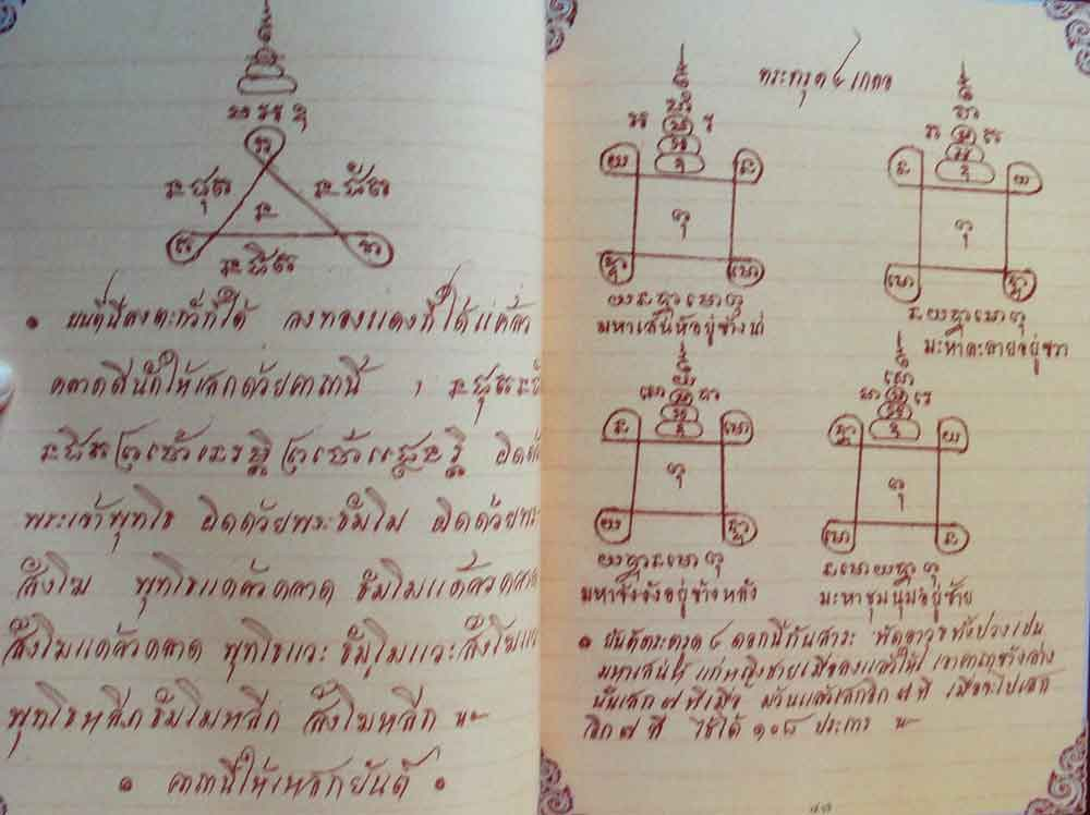 Luang Por Guay Grimoire of Sacred Geometry for Sak Yant Tattoos